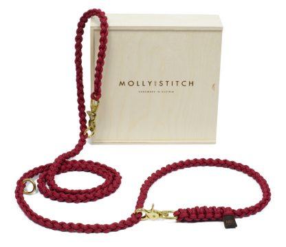 Die Geschenkverpackung von Molly and Stitch ist eine Holzkiste.