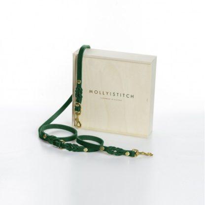 grüne Hundeleine Butter von Molly and Stitch