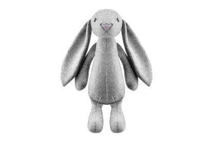 Hundespielzeug grauer Hase Rupert von Lilly Pet Shop