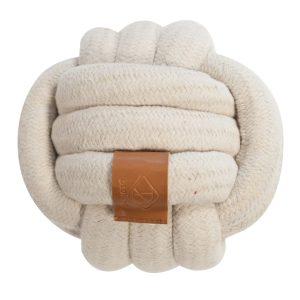 gewickelter Ball für Hunde aus Baumwolle